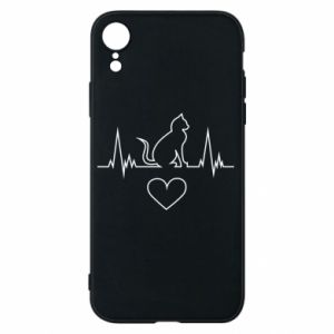 Phone case for iPhone XR Cat