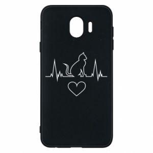 Samsung J4 Case Cat