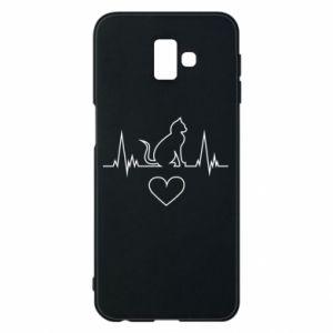 Samsung J6 Plus 2018 Case Cat