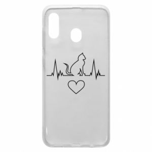 Phone case for Samsung A30 Cat
