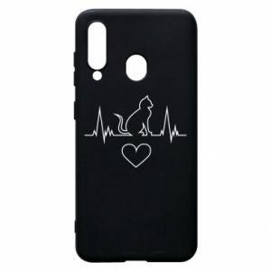 Phone case for Samsung A60 Cat