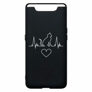 Phone case for Samsung A80 Cat