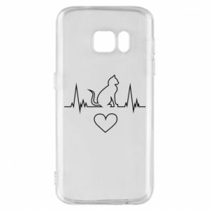 Phone case for Samsung S7 Cat