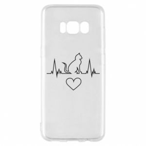 Phone case for Samsung S8 Cat