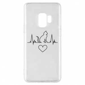 Phone case for Samsung S9 Cat