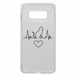 Phone case for Samsung S10e Cat