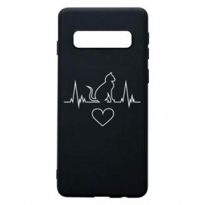 Samsung S10 Case Cat