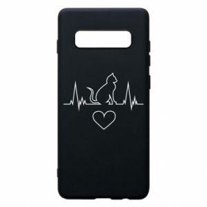 Samsung S10+ Case Cat