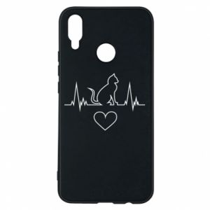 Phone case for Huawei P Smart Plus Cat