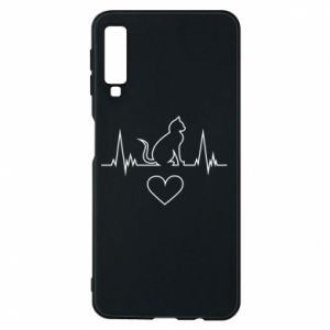 Phone case for Samsung A7 2018 Cat