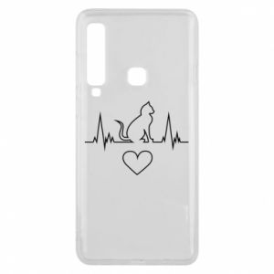 Phone case for Samsung A9 2018 Cat