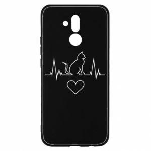 Huawei Mate 20Lite Case Cat