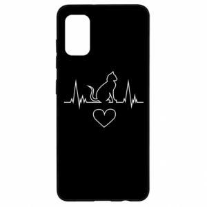 Samsung A41 Case Cat