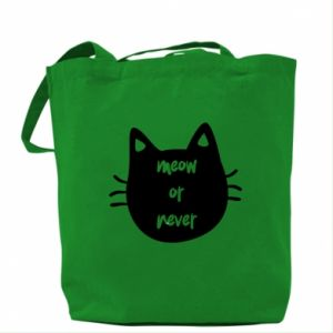 Bag Meow or never
