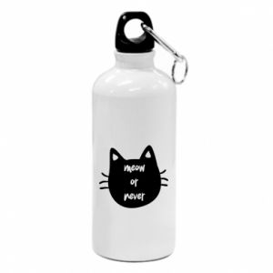 Water bottle Meow or never