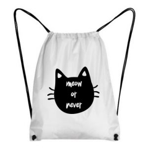 Backpack-bag Meow or never