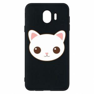 Samsung J4 Case Kitty.