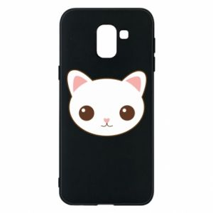 Samsung J6 Case Kitty.
