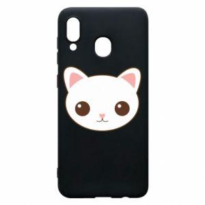 Samsung A30 Case Kitty.