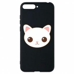 Huawei Y6 2018 Case Kitty.