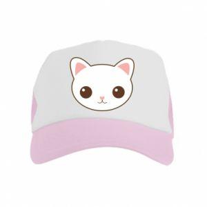 Kid's Trucker Hat Kitty.
