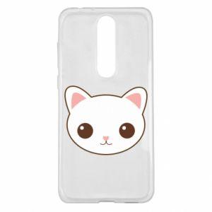 Nokia 5.1 Plus Case Kitty.