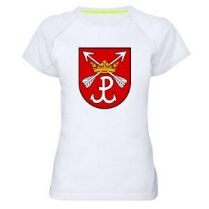 Koszulka sportowa damska Kotwica herb