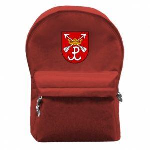 Plecak z przednią kieszenią Kotwica herb