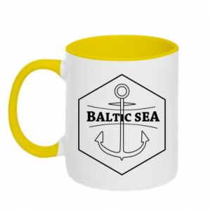 Two-toned mug Baltic Sea