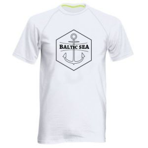 Men's sports t-shirt Baltic Sea