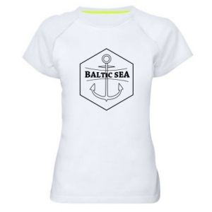 Women's sports t-shirt Baltic Sea