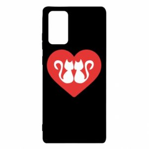 Samsung Note 20 Case Cats in the heart
