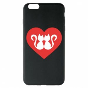 Etui na iPhone 6 Plus/6S Plus Koty w sercu