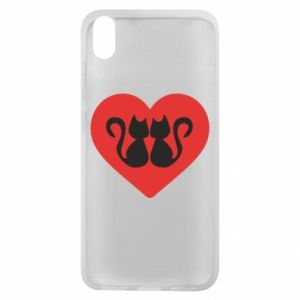 Phone case for Xiaomi Redmi 7A Cats in the heart