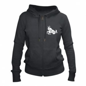 Women's zip up hoodies Koziorożec