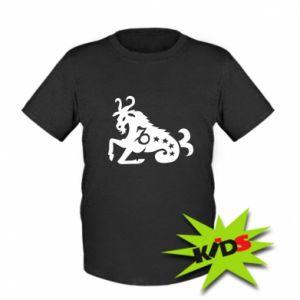 Dziecięcy T-shirt Koziorożec