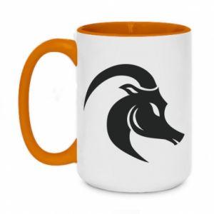 Two-toned mug 450ml Capricorn