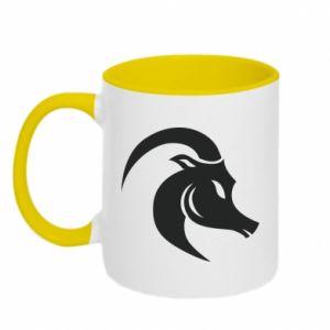 Two-toned mug Capricorn - PrintSalon