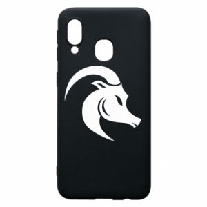 Phone case for Samsung A40 Capricorn