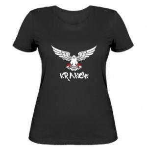 Damska koszulka Krakow eagle black ang red