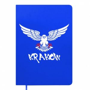 Notepad Krakow eagle black ang red