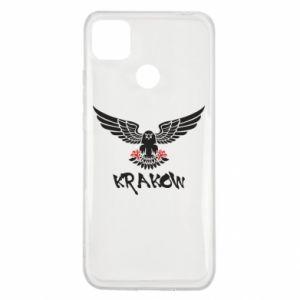 Xiaomi Redmi 9c Case Krakow eagle black ang red