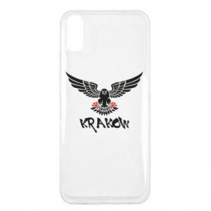 Xiaomi Redmi 9a Case Krakow eagle black ang red
