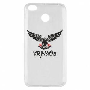 Xiaomi Redmi 4X Case Krakow eagle black ang red