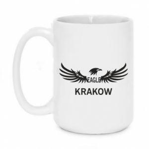 Kubek 450ml Krakow eagle black or white