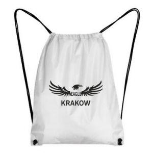 Plecak-worek Krakow eagle black or white