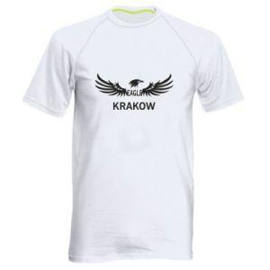 Męska koszulka sportowa Krakow eagle black or white