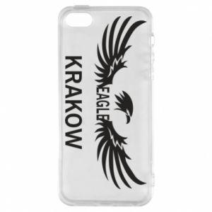 Etui na iPhone 5/5S/SE Krakow eagle black or white