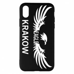 Etui na iPhone X/Xs Krakow eagle black or white