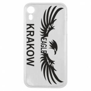 Etui na iPhone XR Krakow eagle black or white
